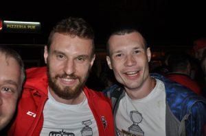 Fanúšik Dano s Branislavom Kubkom.
